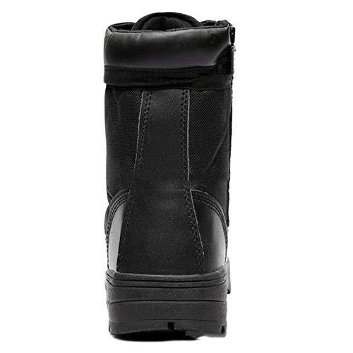 Outdoor Desert Help Field snfgoij Nero Shoes Traspirante Uomo Combattimento Black Leggero Stivali Tattici Armatura sotto da High qWq7g4pwOv