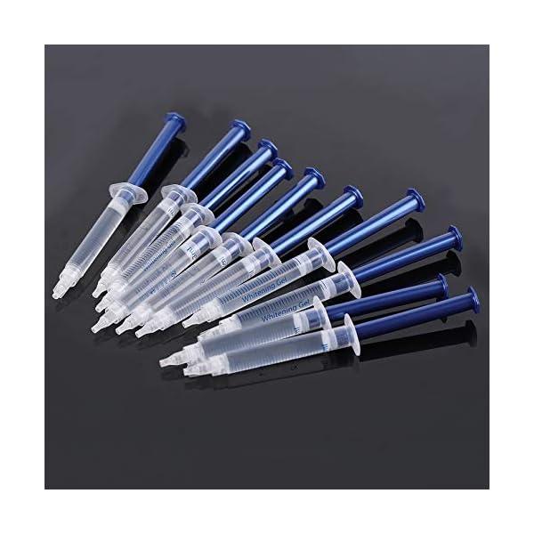 Equipo dental portátil profesional, 10 piezas, dientes blancos, sistema de blanqueamiento dental, blanqueador, kit de… 6