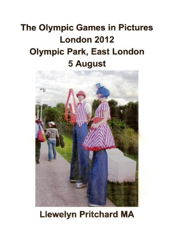 The Olympic Games in Pictures London 2012 Olympic Park, East London 5 August (Photo Albums Book 17) (Catalan Edition)