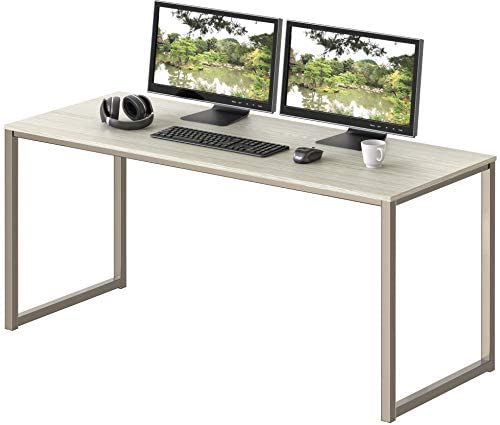 SHW Home Office 48-Inch Computer Desk, Maple