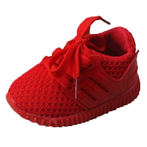 Ohmais Kinder Baby Jungen Baby Mädchen Baby Kleinkind Schuh weich Rot
