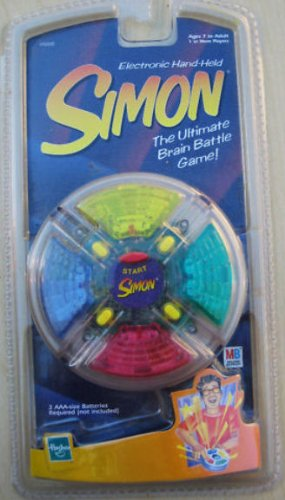 Simon Electronic Hand-Held Clear