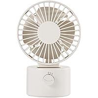 MUJI USB Tabletop Fan [Oscillating Type - White]