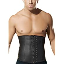 Panegy Mens Waist Lumbar Trainer Girdle Adjustable Beer Belly Trimmer Control