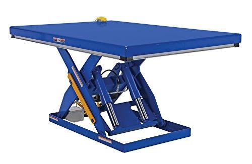 Vestil EHLT-4872-4-43 Electric Hydraulic Scissor Lift Table, 4,000 lb. Capacity, 72