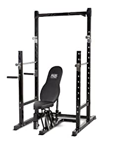 Marcy Platinum Multi functional Power Rack and Weight Bench Set PM-3800