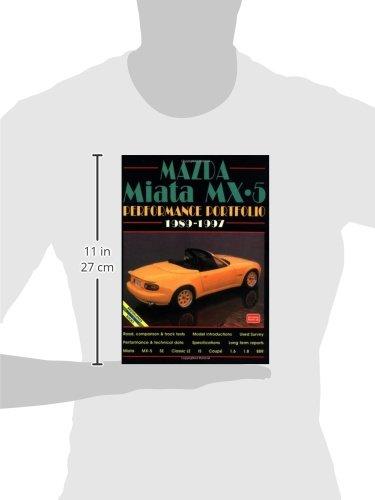 Mazda Miata MX-5 Performance Portfolio: 1989-1996 Performance portfolios: Amazon.es: R. M. Clarke: Libros en idiomas extranjeros