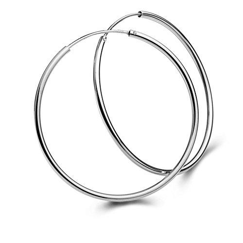 Fashion Sterling Earrings Jewellry Diameter
