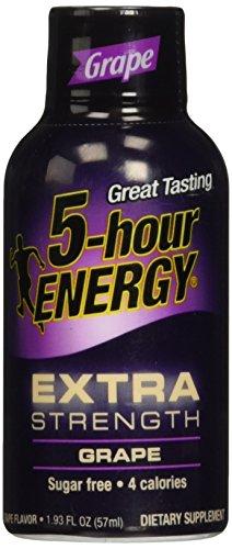 grape 5hr energy - 6