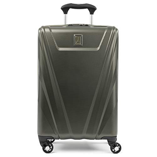 Travelpro Maxlite 5 Carry-on Spinner Hardside Luggage, Slate Green (21 Carry On Luggage Case)