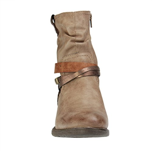 Softline 25461 Ankle 39 Boot Jana Taupe F0p0q