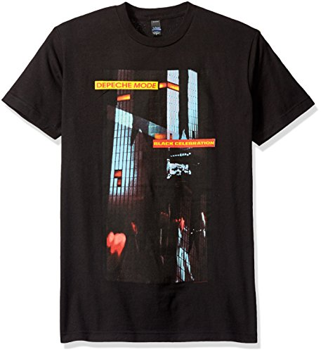 FEA Men's Depeche Mode Celebration Soft T-Shirt, Black, XX-Large ()