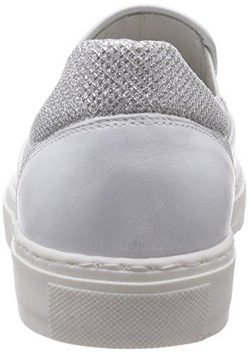 Basso Delle argento Inuovo A bianco Donne argento Scarpe 6039 top Silber Argento Ginnastica Da FSnwI1qfn