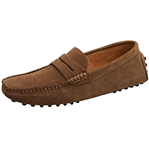 Tan driven mens casual slip on shoes sale online with paypal low price cheap sale clearance JVVqY6o
