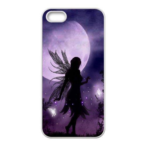 iPhone 5S caso, DIY Luna hada patrón para iPhone 5S carcasa ...