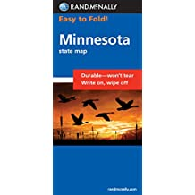Rand McNally Easy to Fold! Minnesota State Map