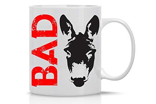 96b05c24450 11OZ Coffee Mug - Bad ass - Funny Inspirational and Sarcasm Mug - Perfect  Gag Gift