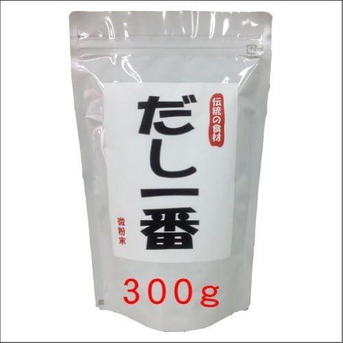 だし一番 300g/袋 5個セット ※いわし、こんぶ、かつお、椎茸、無臭にんにくを使用!天然食材100%の旨みがいっぱい詰まっています!