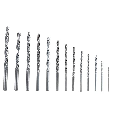 Metallbohrer HSS G DIN 1869 2,0-13,0mm Metallbohrer extra lang 9 mm Gesamtl/änge 250mm 1 St/ück