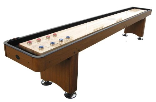(Playcraft Woodbridge Shuffleboard Table, Honey Oak,)