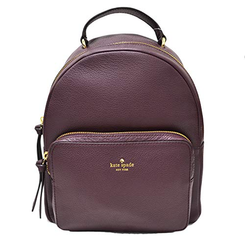 Nicole Backpack (Kate Spade New York Larchmont Avenue Mini Nicole Backpack Purse (Deep Plum))