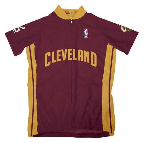 NBA Cleveland Cavaliers Women's Short Sleeve Cycling Away Jersey, XL, ()