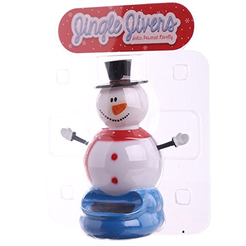 Christmas Snowman Solar Powered Pal