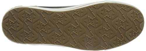 Zapatillas De Deporte Armani Jeans Mujeres Lizard Pu Beige