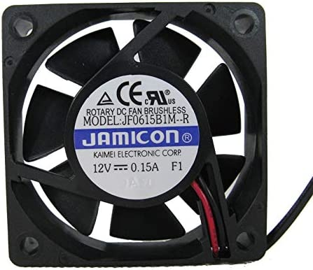 6015 12V 0.15A 6CM Double Ball JF0615B1M-R Cooling Fan