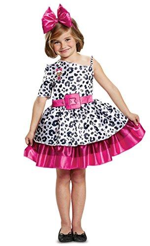 L.O.L. Surprise! Diva Classic Child Costume, White, Medium/(7-8)