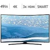 Samsung UN49KU6490 49-Inch Curved 4K UHD TV