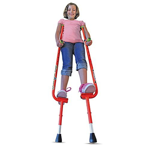 Geospace WALKAROO Xtreme Steel Balance Stilts with Height Adjustable Vert Lifters by Air Kicks by Geospace (Image #7)