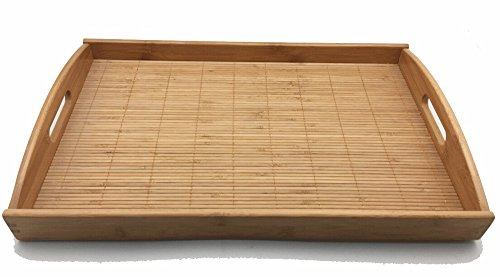 JapanBargain S-4099, Bamboo Tray 20 L X 13 W, Large