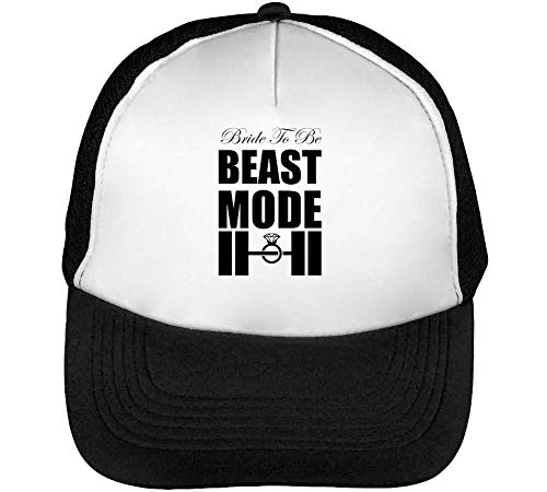 Bride Be Hombre Snapback Negro Blanco To Beisbol Beast Gorras Mode r5rSq