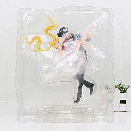 Sailor Moon and Tuxedo Mask Figure BOXED Figuarts Zero Chouette Action PVC
