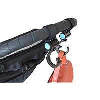 Stroller Hook - Set of 2 - Fully Adjustable, Versatile, Sleek Design Frees up...