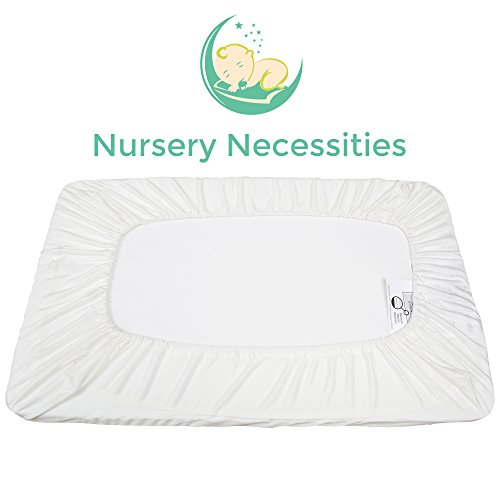 100% Organic Bamboo Pack N Play Sheet - Silky Soft, Antibacterial, Hypoallergenic - Superior to Cotton - by Nursery Necessities