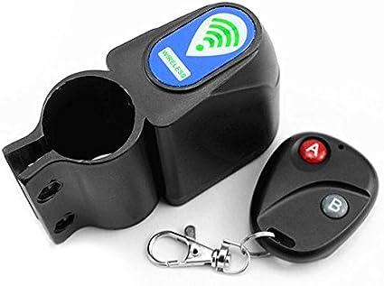 Motorcycle Bicycle Vibration Alarm Wireless Remote Control Anti-theft Sensor New