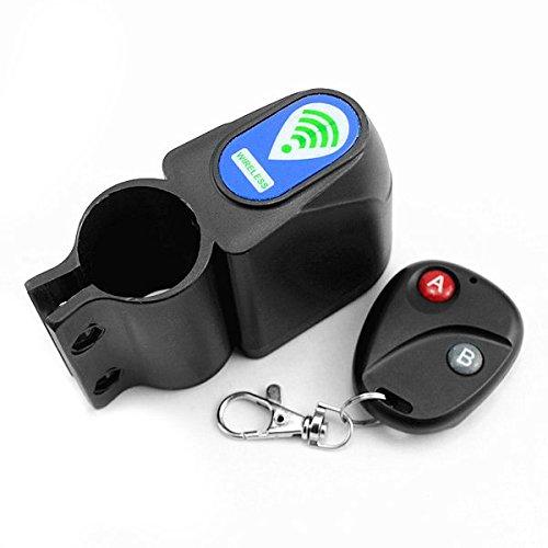 Wireless Remote Control Bike Bicycle Alarm Siren Shock Vibration Sensor Cycling Lock Guard Anti-theft
