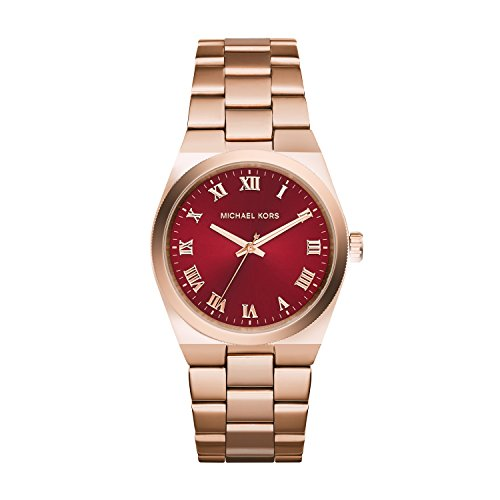d8cdc583e57c Michael Kors MK6090 Ladies Channing Rose Gold Plated Watch