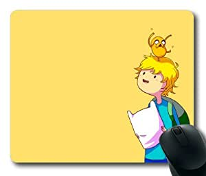 Finn and Jake Rectangle Mouse Pad by eeMuse by ruishername