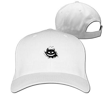 Cartoon Cat Baseball Caps Fashionable Adjustable Snapback Hats For College Students