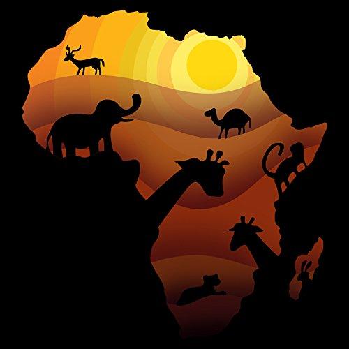 African Animals Sahara Bush Wildlife Vinyl Sticker B/&A