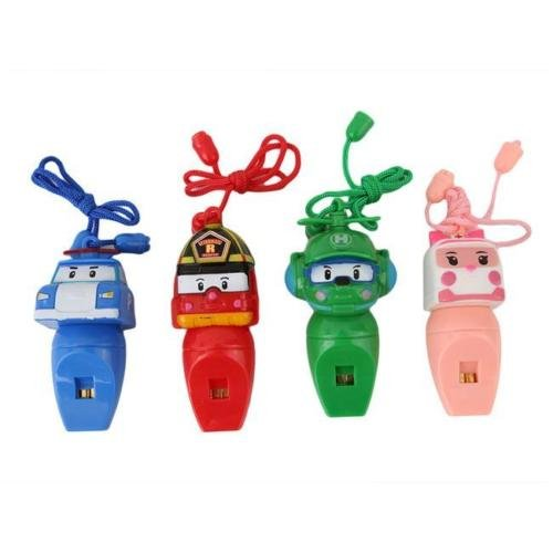 [Robocar Poli Whistle Robot Car Whistle Robocar Poli Car Shape Child Kid Toys W] (Child Star Wars Costume Australia)