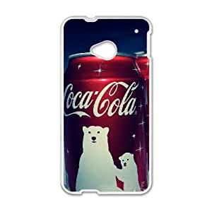 Coca Cola HTC One M7 Cell Phone Case White BZP