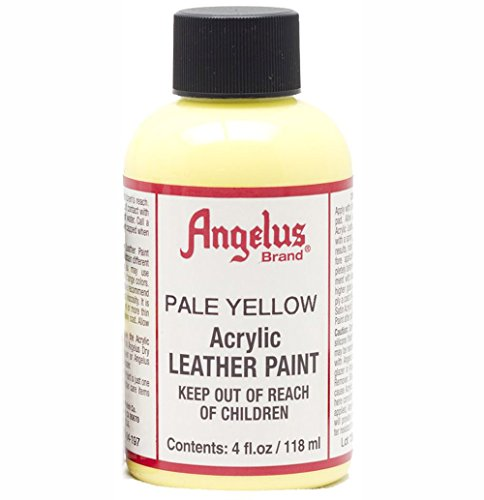 - Angelus Leather Paint 4 Oz Pale Yellow