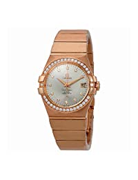 Omega Constellation Automatic Silver Dial Ladies Watch 123.55.35.20.52.001