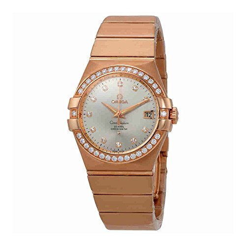 Omega-Constellation-Automatic-Silver-Dial-Ladies-Watch-12355352052001
