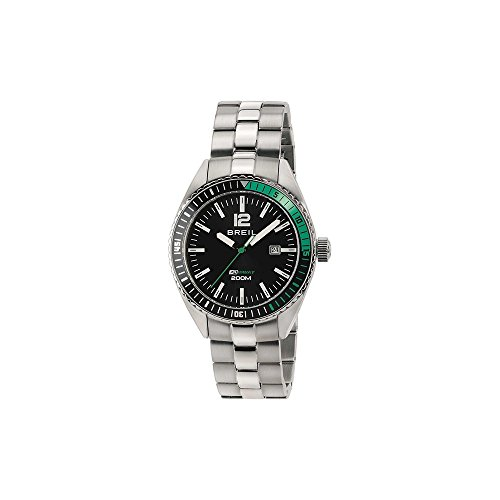 BREIL Watch Midway Male Only Time Black Stainless steel - TW1631