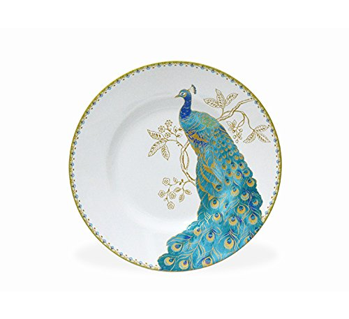 222 Fifth Peacock Garden 16-piece Dinnerware Set, Service for 4 by 222 Fifth (Image #6)